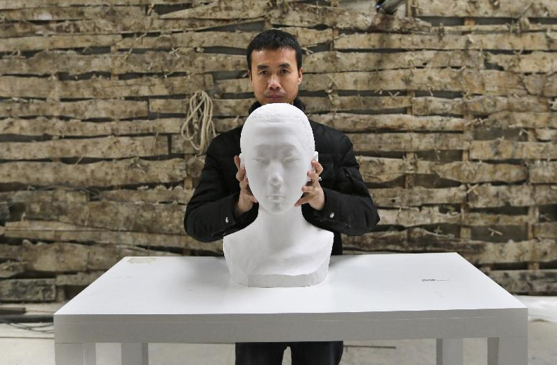 6 BUST OF DAVID   Li Hongbo