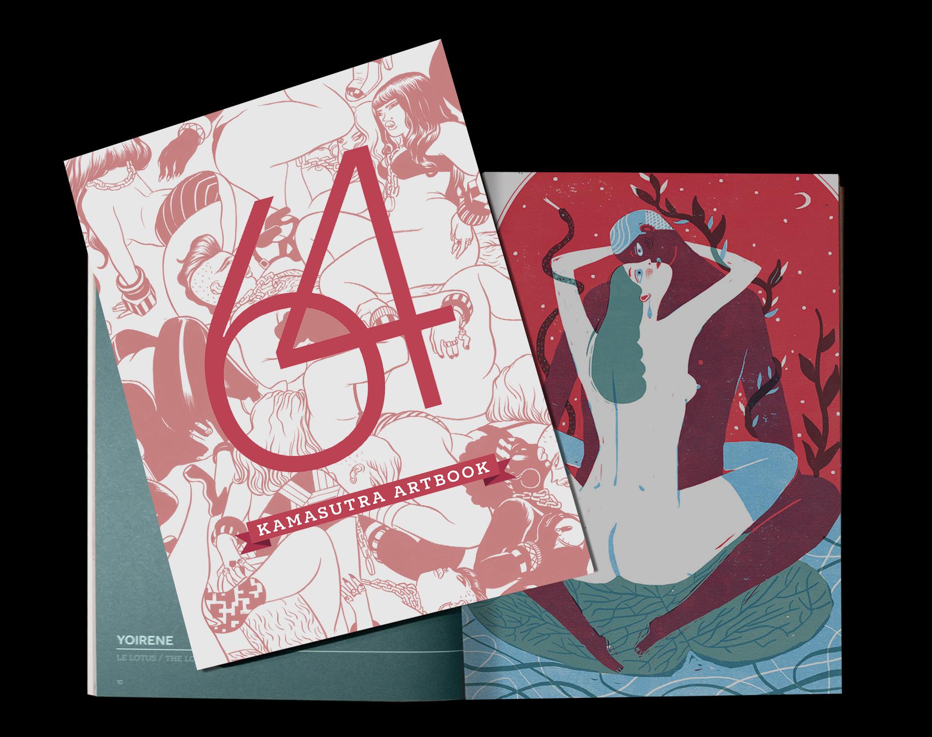 64 kamasutra artbook KAMASUTRA ART BOOK   64 artisti interpretano le posizioni delleros