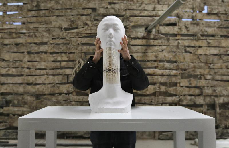 7 BUST OF DAVID   Li Hongbo