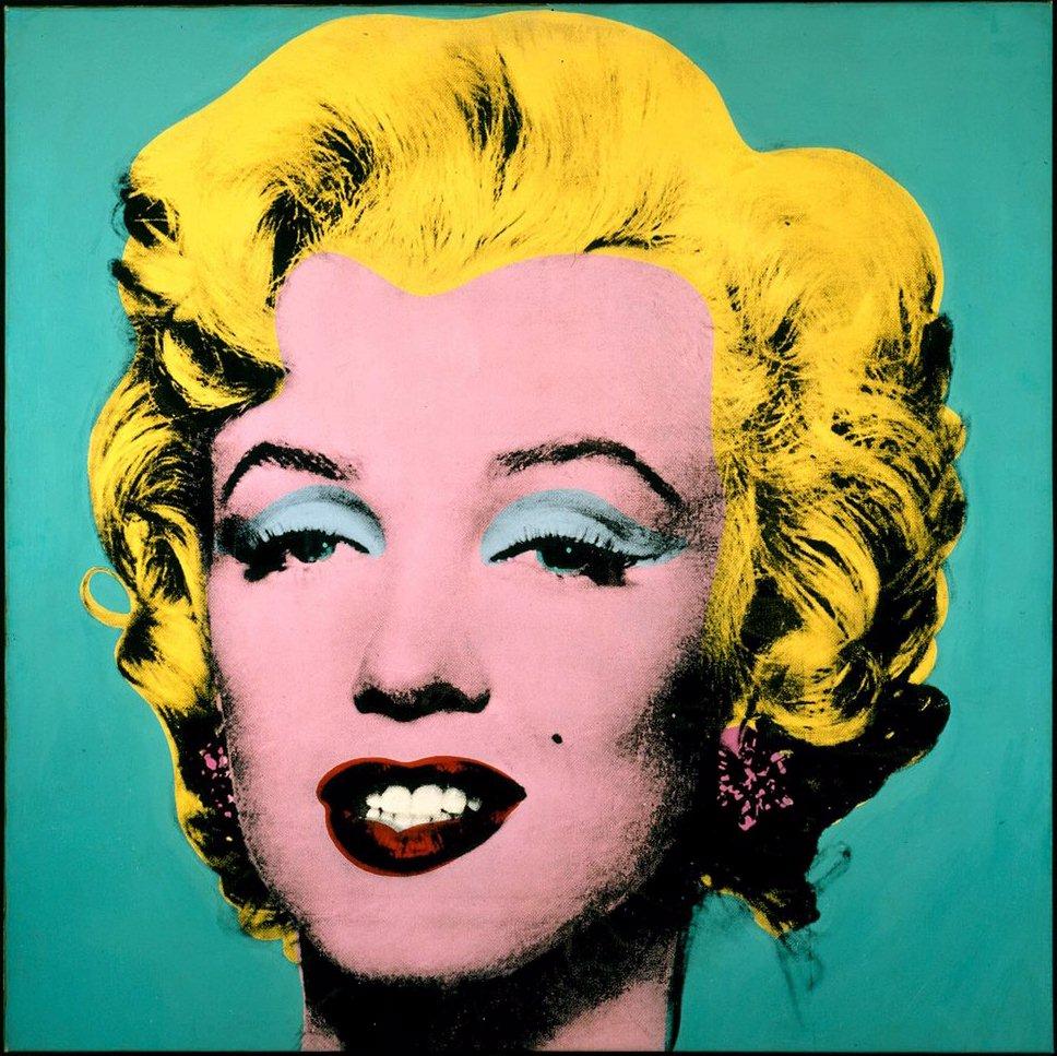 Andy Warhol Marilyn WE ART   Modalità Demodè party!