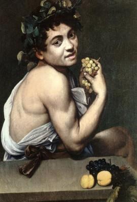 Bacchino malato Caravaggio 270x400 PROUST A COLORI   un viaggio nellatlante pittorico del grande scrittore del Tempo