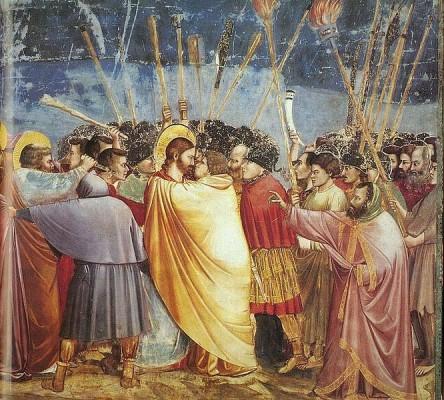 Bacio di Giuda Giotto TuttArt@ 3 444x400 PROUST A COLORI   un viaggio nellatlante pittorico del grande scrittore del Tempo