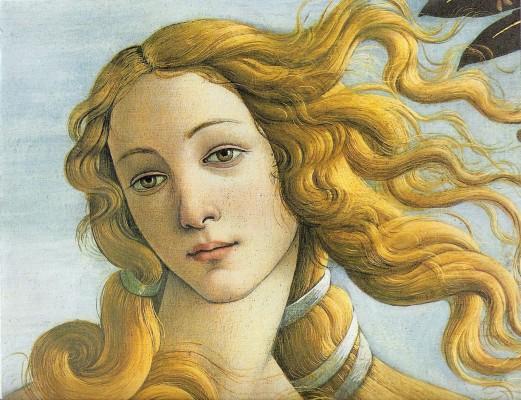 botticelli particolare venere 521x400 PROUST A COLORI   un viaggio nellatlante pittorico del grande scrittore del Tempo