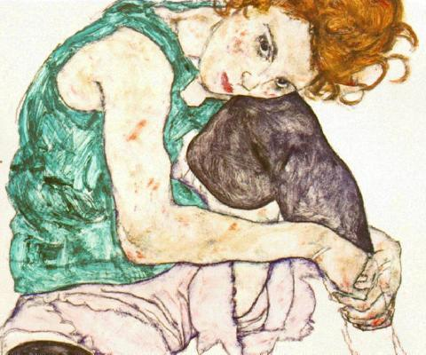schiele mostra WE ART   Modalità Demodè party!