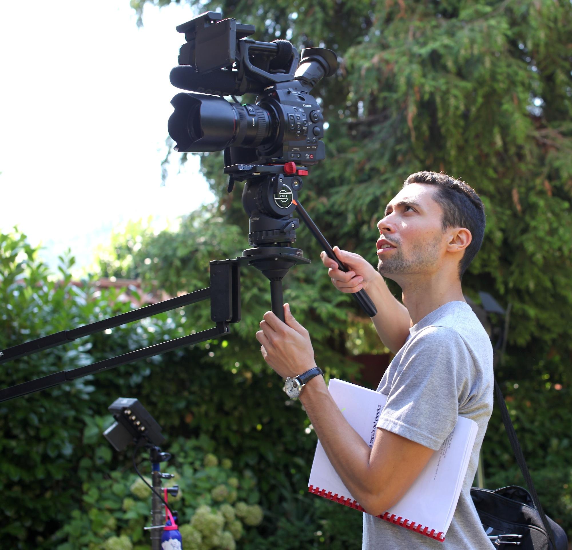 Director Giacomo Arrigoni LA REGOLA DEL PIOMBO   Lintervista a Giacomo Arrigoni