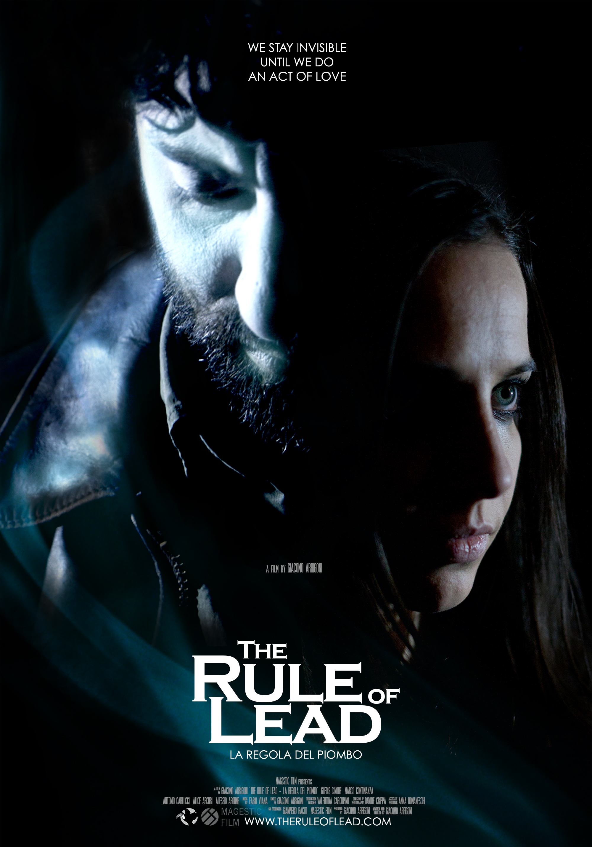 Poster The Rule of Lead LA REGOLA DEL PIOMBO   Lintervista a Giacomo Arrigoni