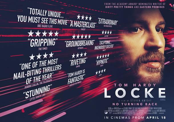 locke poster 02172014 104513 LOCKE   Il film con Tom Hardy in uscita il 30 aprile