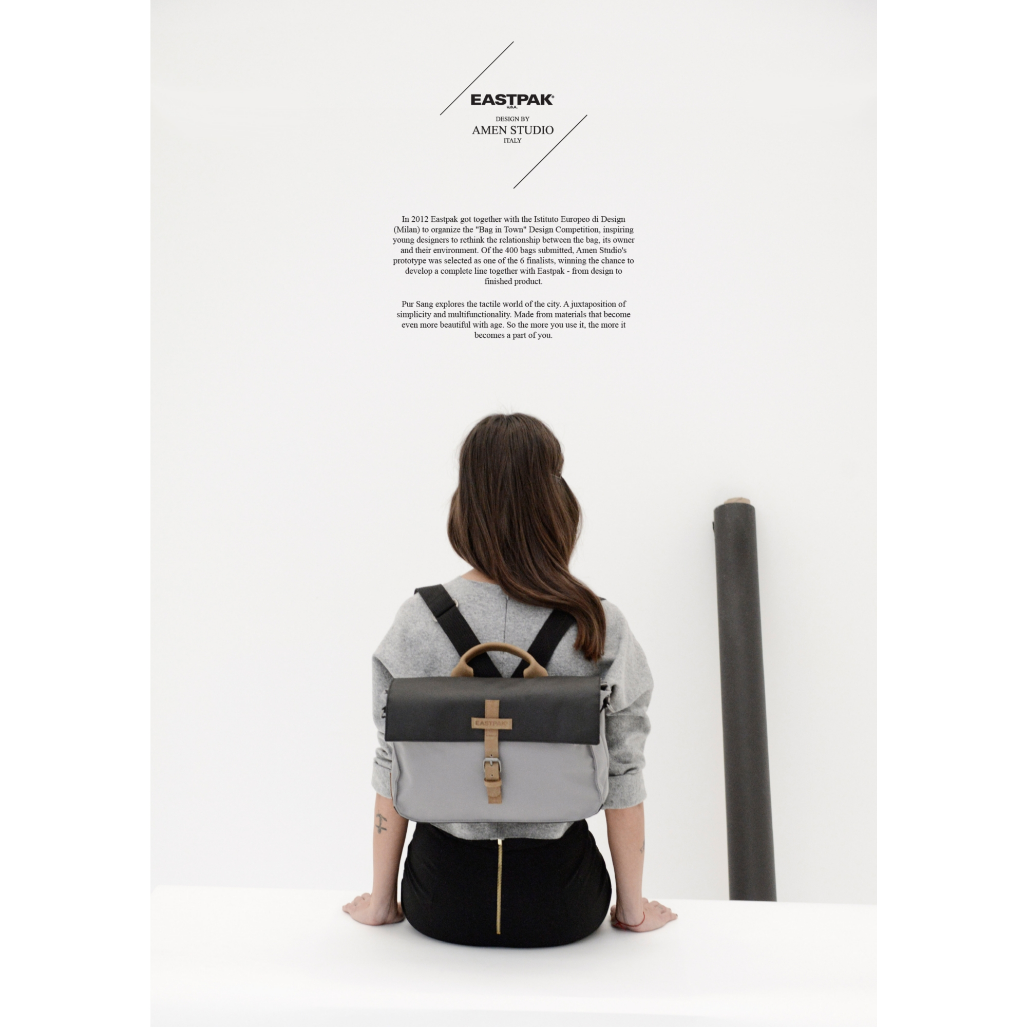 A3cardboard AMEN STUDIO   Capsule collection per Eastpak