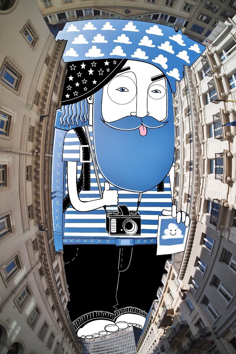 Thomas Lamadieu SkyArt 02 SKY ART   Nel blu dipinto di Thomas Lamadieu