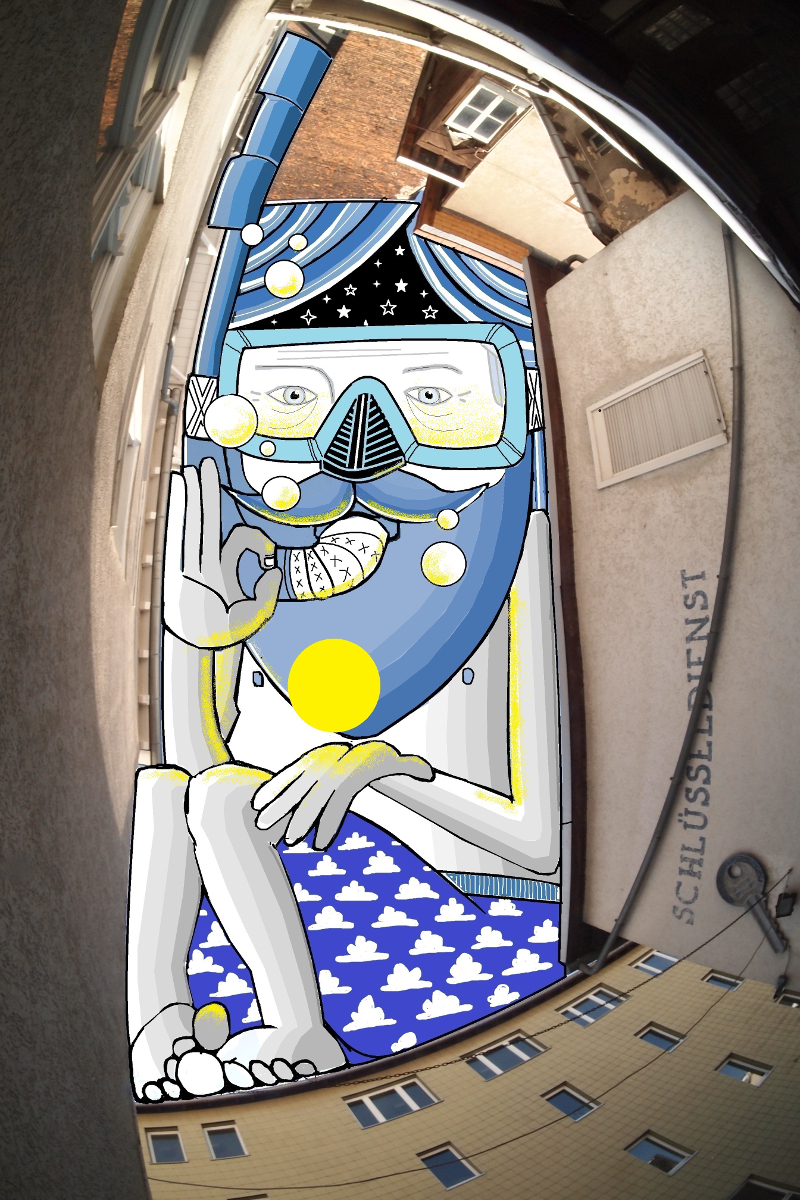 Thomas Lamadieu SkyArt 05 SKY ART   Nel blu dipinto di Thomas Lamadieu