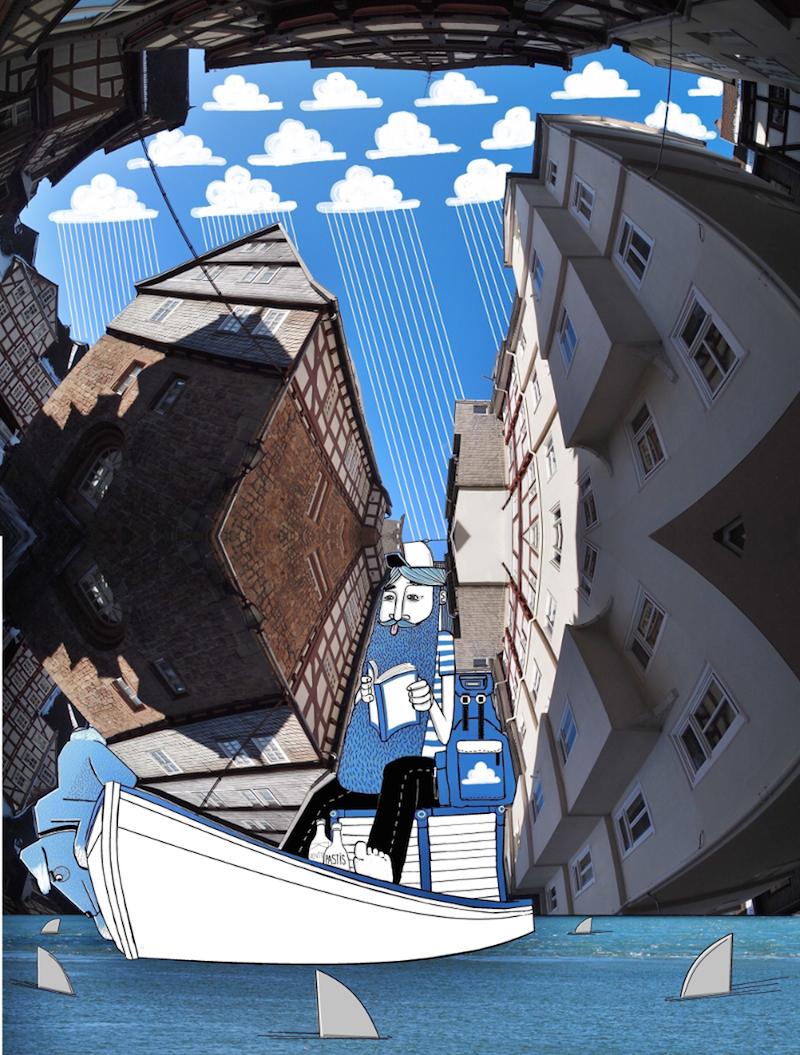 Thomas Lamadieu SkyArt 06 SKY ART   Nel blu dipinto di Thomas Lamadieu