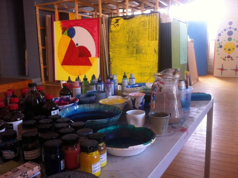 photo10 e1400692197348 PARCOURS DARTISTES ST GILLES   Atelier aperti a Bruxelles