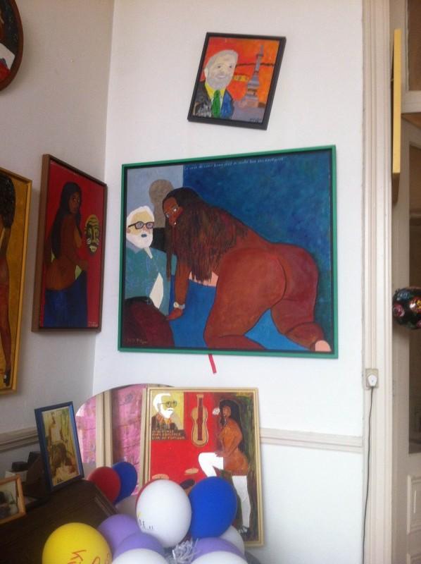 photo121 e1401197670581 PARCOURS DARTISTES ST GILLES   Atelier aperti a Bruxelles