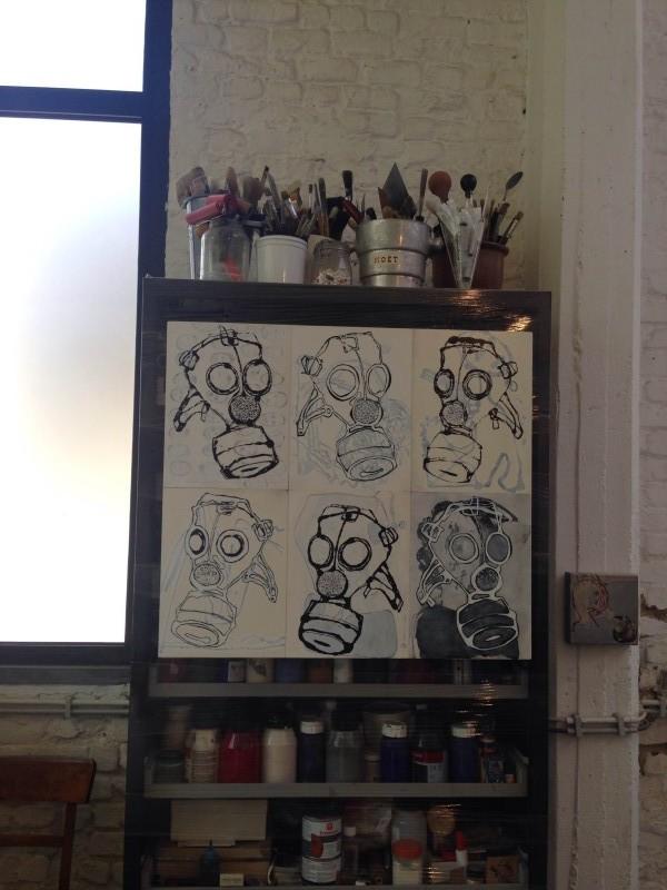 photo22 e1400692599139 PARCOURS DARTISTES ST GILLES   Atelier aperti a Bruxelles
