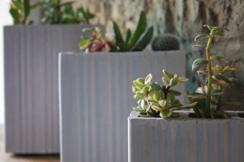 Porta vasi realizzati dai mattoni e1406126345806 ALLESTIMENTI ECO DESIGN