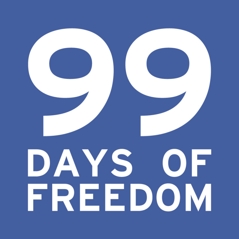 new profile picture e1406736499111 99 DAYS OF FREEDOM