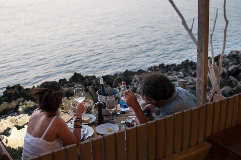 DSC 2833 Dove mangiare a Peschici? Al Trabucco da Mimì