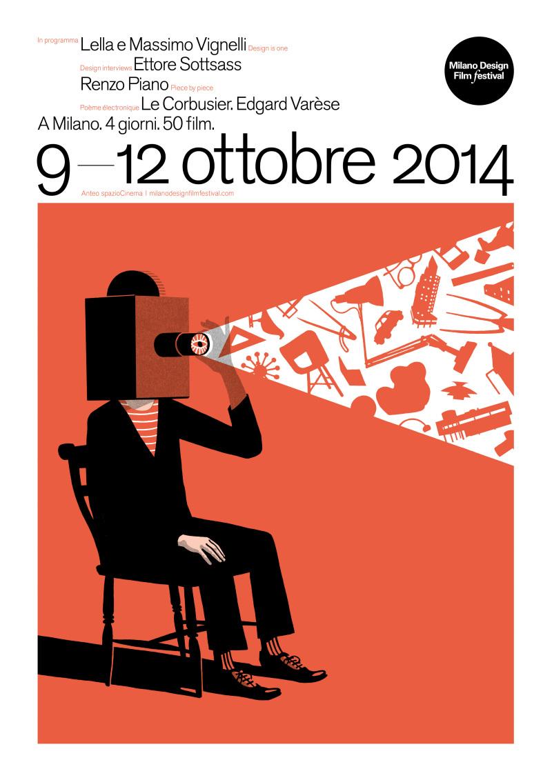 Milano Design Film Festival Second edition Poster 2014 photo credit Bill Bragg e1412169787260 MILANO DESIGN FILM FESTIVAL