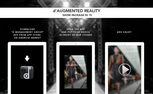 instructions d augmented reality SFILATE IN REALTA AUMENTATA
