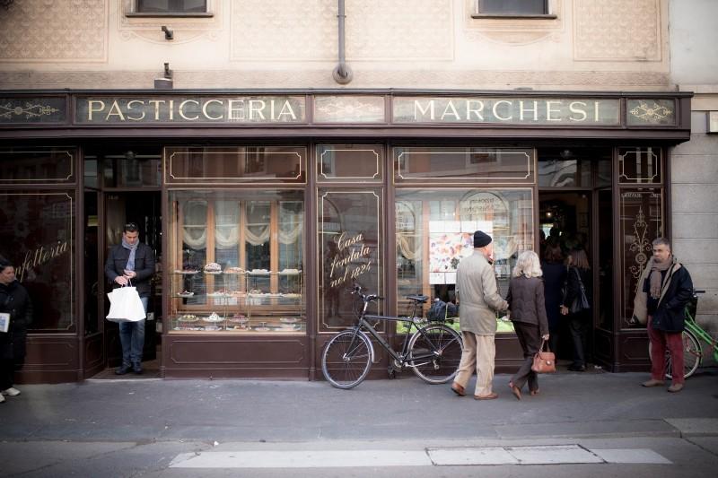 Pasticceria Marchesi e1424274516457 La Milano in cui il tempo si è fermato