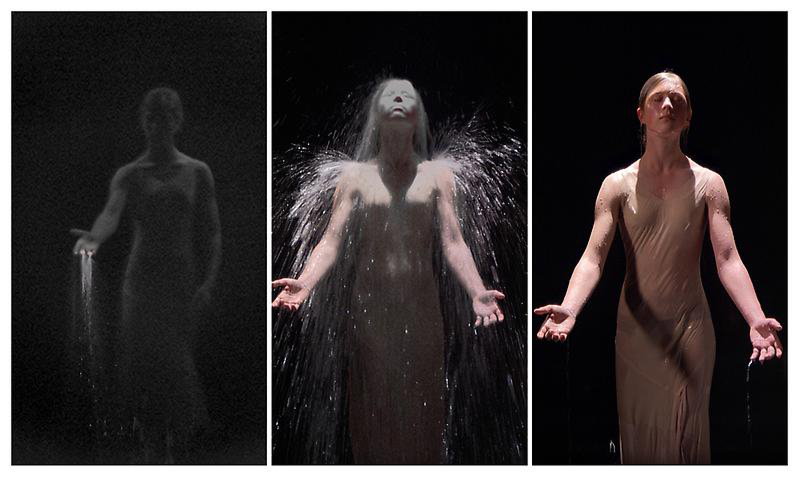 BILL VIOLA Anika 2008 Color High Definition video on LCD panel 24.8 x 14 x 2.36 inches 63 x 35.5 x 6 cm VISIONI D'ARTE 2015