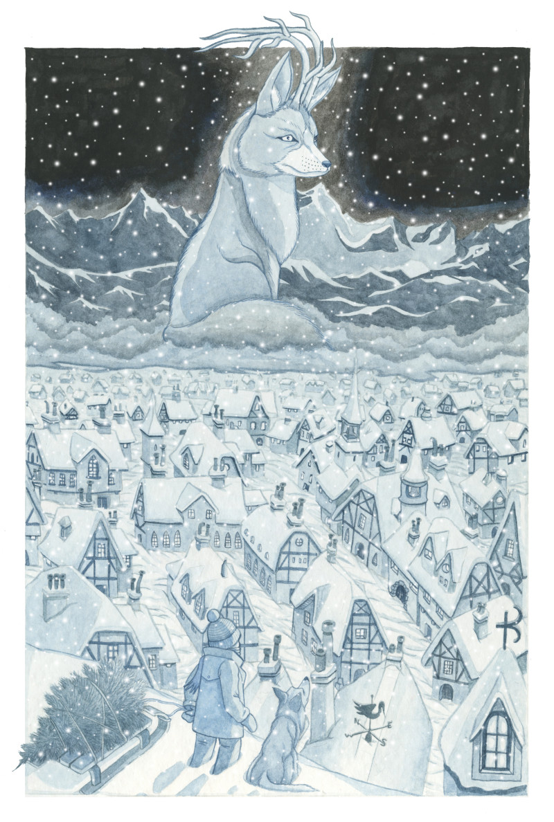 christmas fox e1427295338203 PIETRO NICOLAUCICH