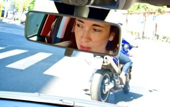 Test drive with portrait