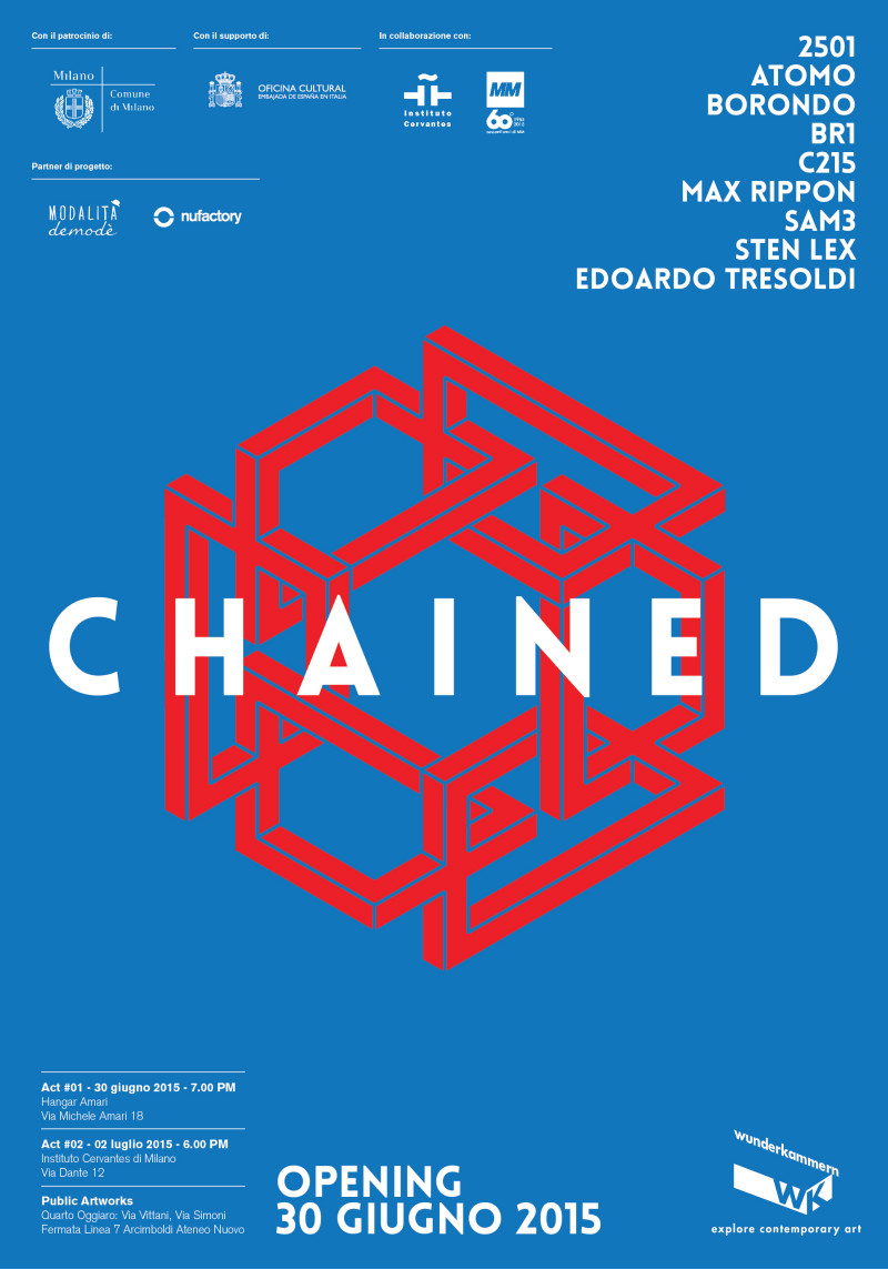 Chained Poster 35x50 New High e1434376243121 CHAINED