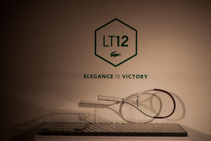 Lacoste Tennis 23.06.2015 La Protagonista dellevento la nuova racchetta Lacoste LT12 e1435323756888 LASCOSTE PLAY YOUR TENNIS