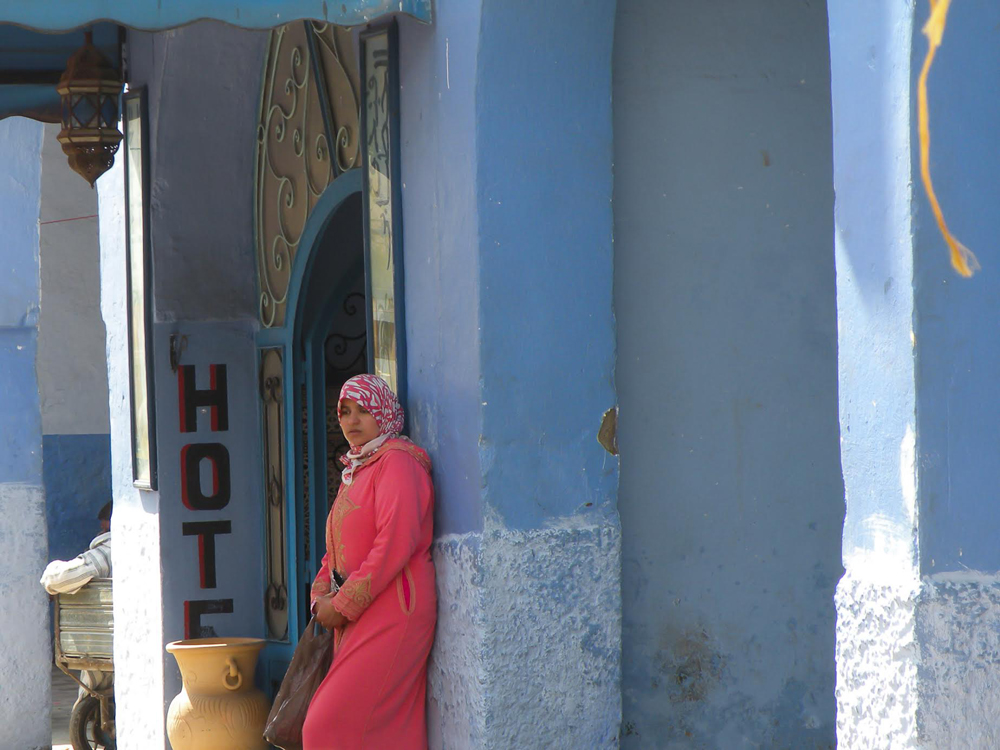 unnamed Chefchaouen