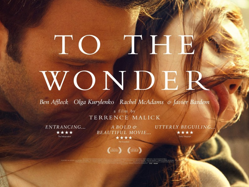 To the Wonder UK Quad Poster e1445280911827 TO THE WONDER