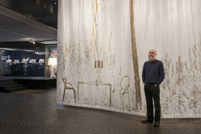 01 Stefano Arientis installation for Kartell Museum e1447287291603 Museo Kartell