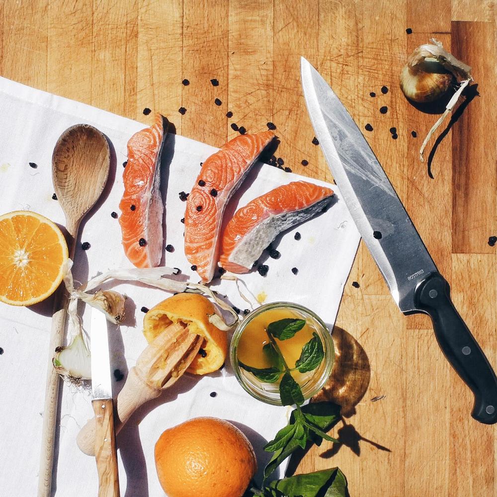 salmone agrumi 1 Il salmone di Nanuk