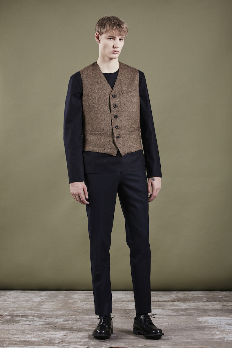 The classic waistcoat brown tweed THE GREAT SARTORIAL UPRISING