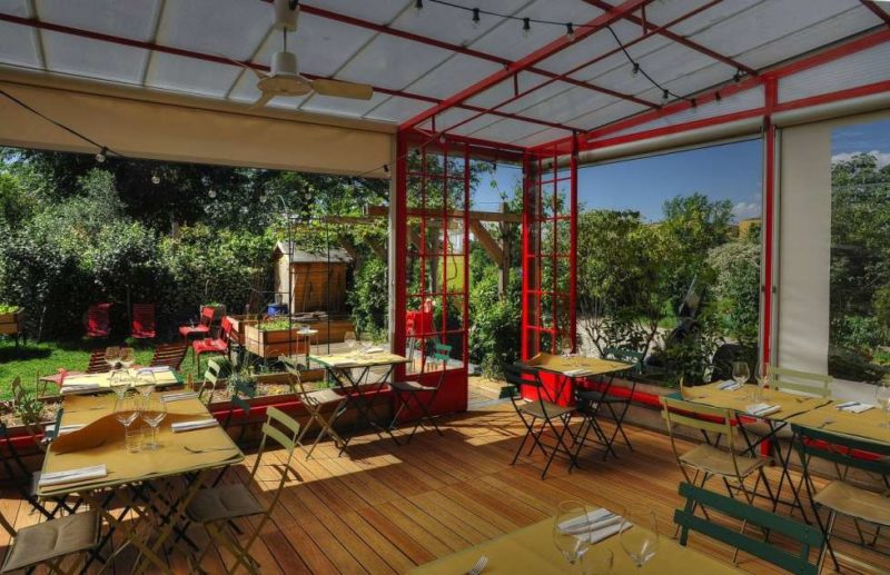 erba brusca ristorante con giardino a milano e1463492148677 MANGIARE ALLAPERTO A MILANO