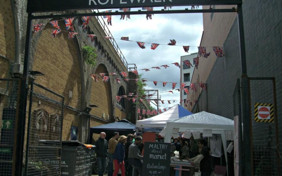 Maltby Street Market london 900x563 LONDON MARKETS