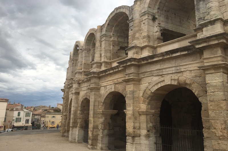 Arles Les Arenes Anfiteatro Romano VIAGGIO IN PROVENZA