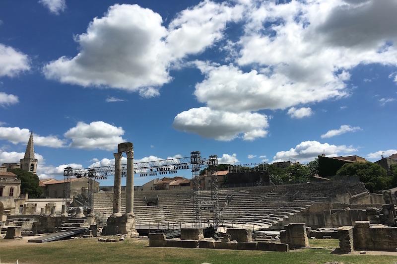 Arles teatro romano VIAGGIO IN PROVENZA