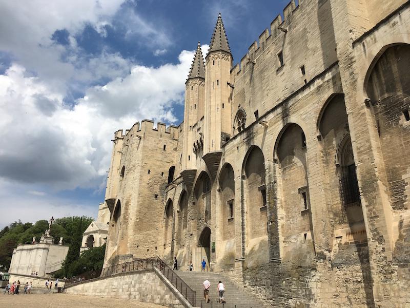 Avignone Palazzo dei Papi VIAGGIO IN PROVENZA
