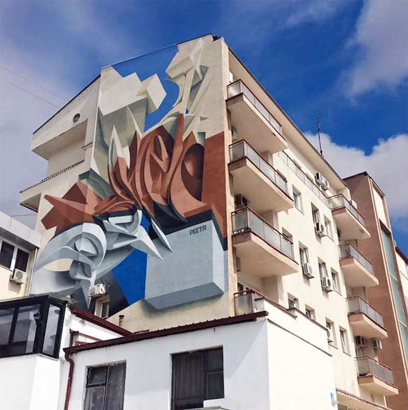 Amazing 3D Graffiti by Italian Street Artist Peeta 3 JOYS & PEETA