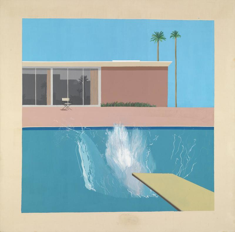 abiggersplash DAVID HOCKNEY
