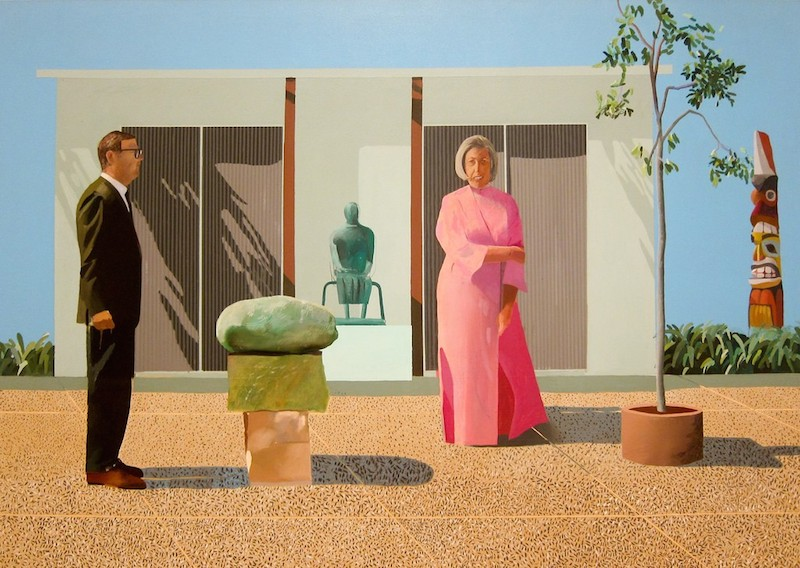 david hockney couple portrait DAVID HOCKNEY