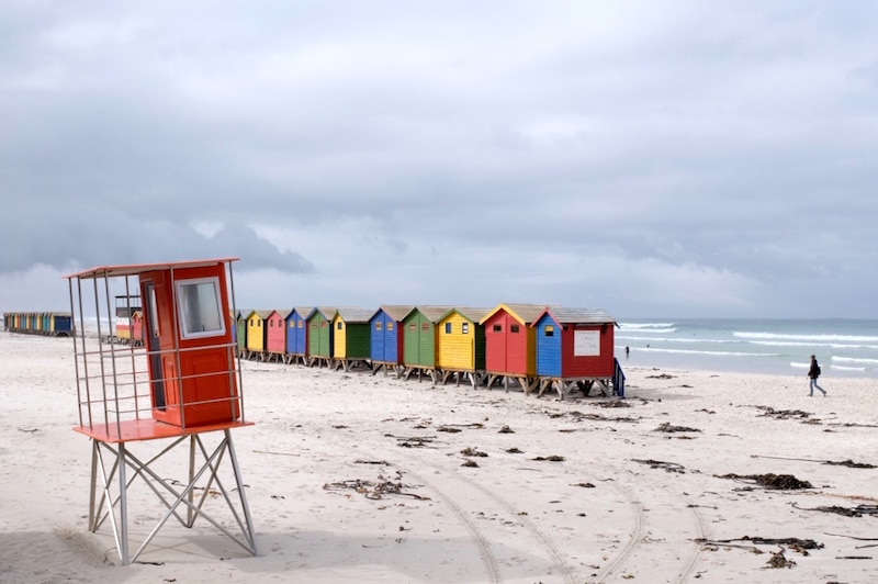 Muizenberg SUD AFRICA ON THE ROAD