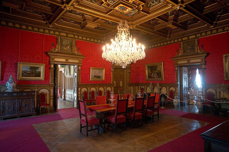 800px Castello Miramare interior 2009 30 CASTELLI ITALIANI DA FILM