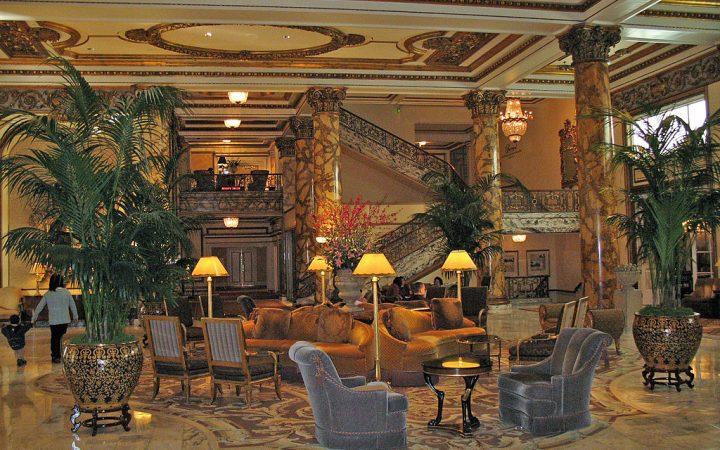 1024px Fairmont Hotel lobby San Francisco 2 720x450 HOTEL DA FILM