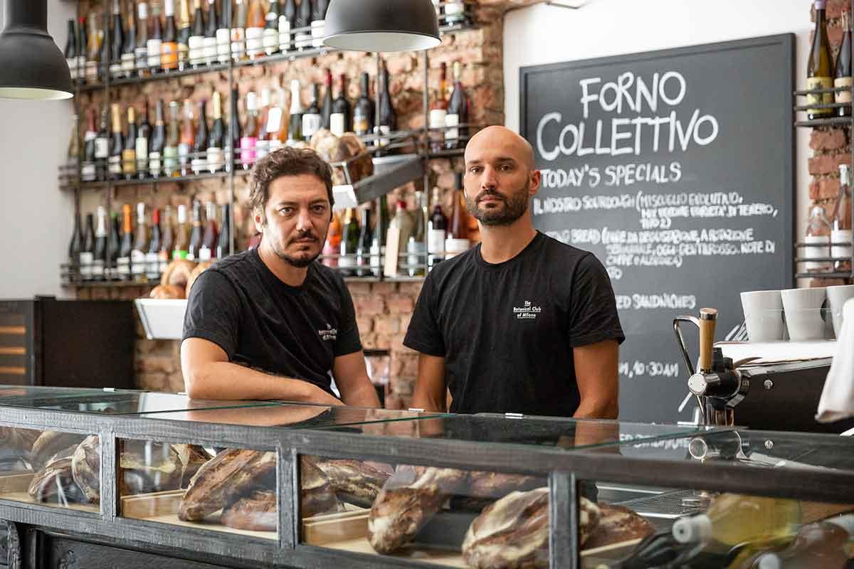 Forno Collettivo Milano Davide Martelli e Alessandro Longhin FORNO COLLETTIVO