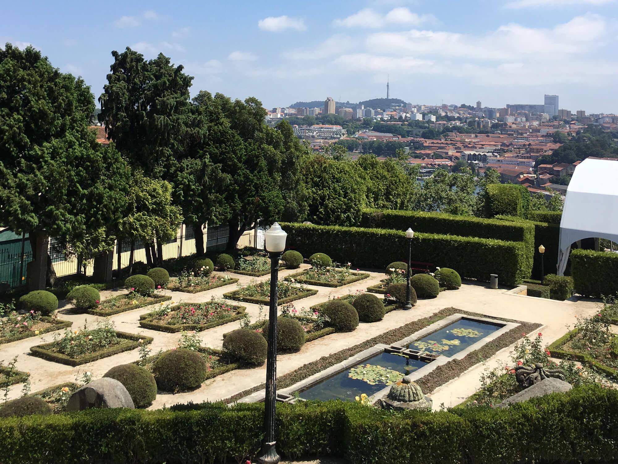 jardin palcio crista porto PORTO