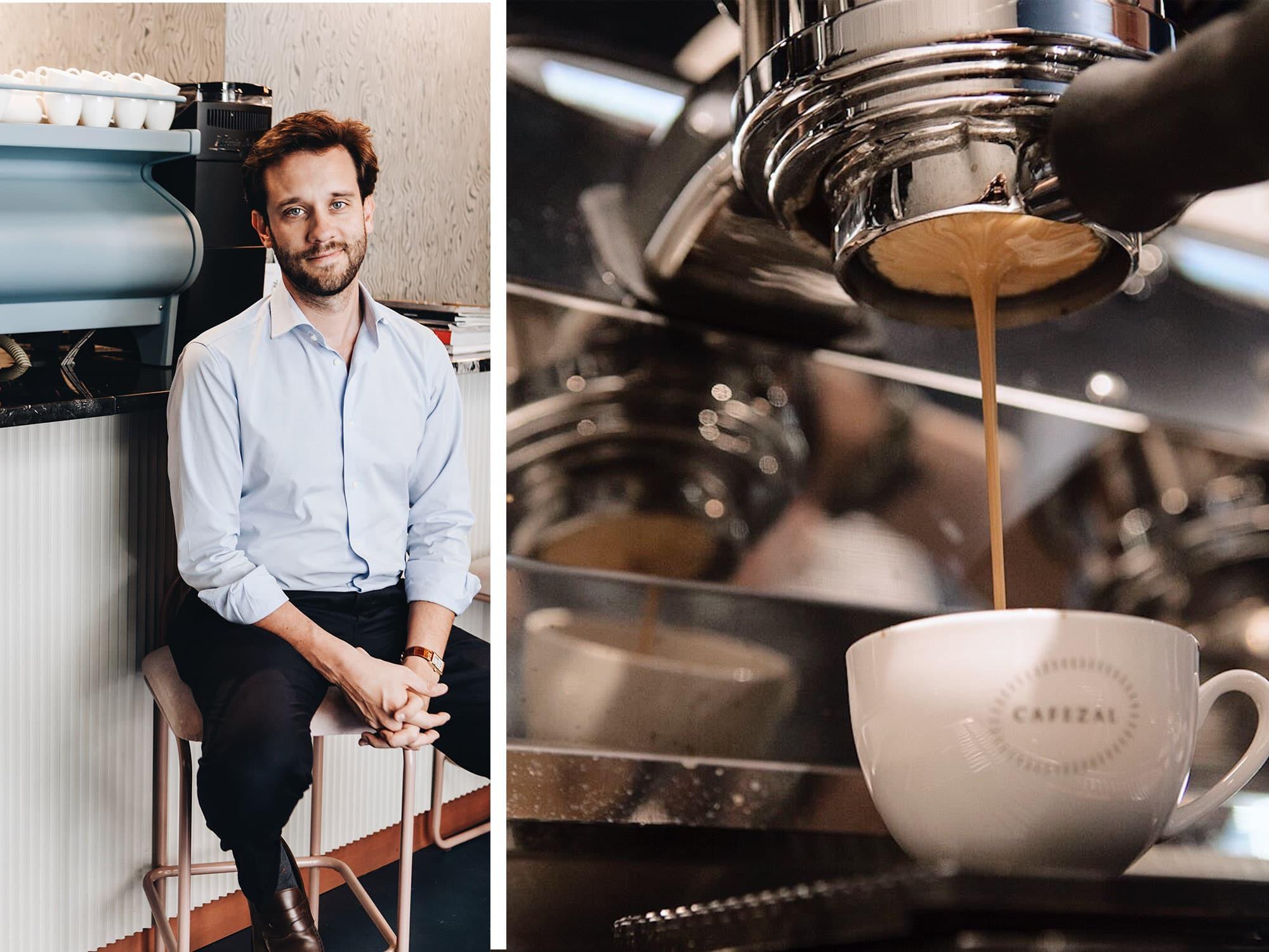cafezal La scena Milanese del caffè