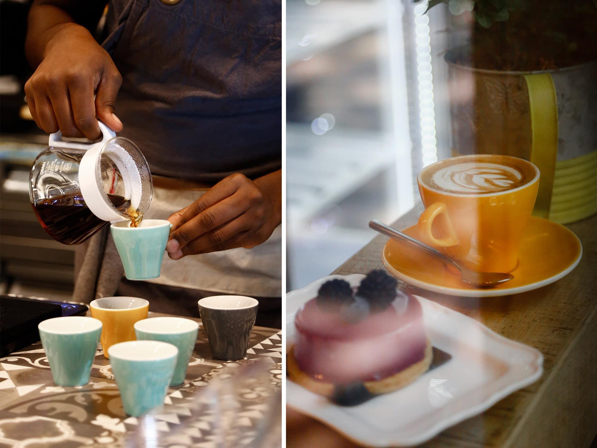 tralerighe La scena Milanese del caffè