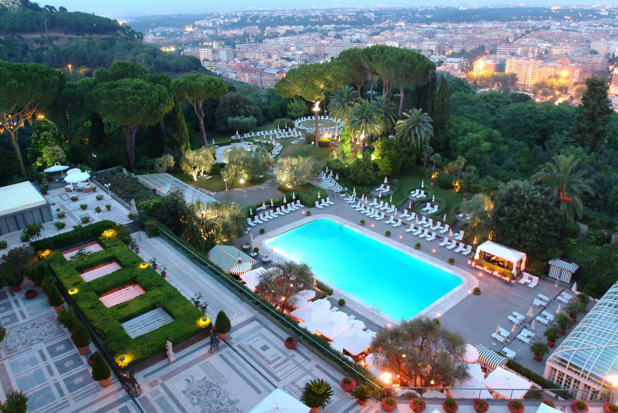 Cap 6 Foto 6 Il cavalieri Hilton di Roma è unico per lusso panorama estensione ART HOTEL NEL MONDO